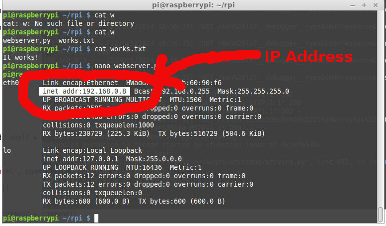 Control Your Raspberry Pi From Your Phone / Tablet – Python